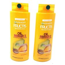 Garnier Fructis Oil Repair 3 Fortifying 2 in 1 Shampoo & Conditioner Lot of 2