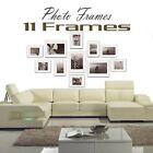 11 pcs Picture Photo Frame Set Wall White 140 x 80cm Home Decor Art Colour Gift