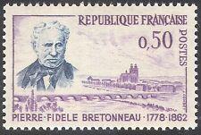 France 1962 Bretonneau/Medical Science/People/Bridge/Transport 1v (n29017)