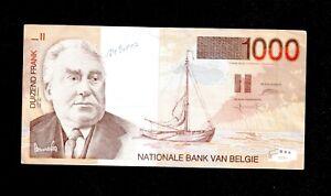 BELGIUM 1000 FRANCS #89