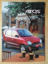 HYUNDAI ATOS 2002 sales brochure - French text Swiss Mkt