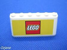 LEGO Part 4176 Trans Black Windscreen 2 x 6 x 2 Lot de deux