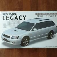 Fujimi Subaru Legacy Touring Wagon GT-B E-Tune II Inch Up 1/24 Model Kit #14077