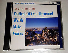 "Very Best of the Festival of One Thousand Welsh Male Voices. A ""STUDIO 2""  CD"