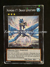 NUMERO 17 : DRAGO LEVIATANO SP13-IT023 STAR FOIL good  ITA YGO YUGIOH YU-GI-OH