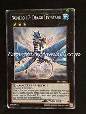 NUMERO 17 : DRAGO LEVIATANO SP13-IT023 STAR FOIL good  ITA YGO YUGIOH YU-GI-OH