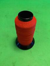 Holland Nylon Fishing Rod Wrapping Thread Red 4 Ounce Spool <(O)>< <(O)><