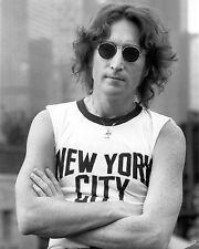 "John Lennon New York 10"" x 8"" Photograph"