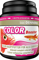 Dennerle Premium Fish Food: Color Booster 200ml for All Fish