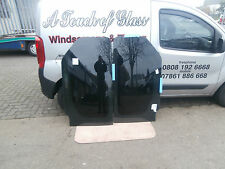 SIDE WINDOWS VAUXHALL VIVARO  NEW IN PRIVACY GLASS SUPPLY & FITTED £320 A PAIR