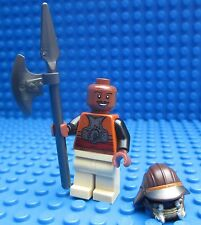 Lego Star Wars Lando Calrissian Axe Minifig Figure 9496 Jabbas Palace Tatooine