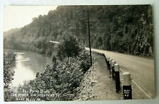 The Prize Drive Elk River On Highway 71 Near Noel Missouri Rppc Postcard