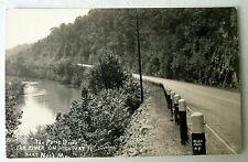 The Prize Drive Elk River On Highway 71 Near Noel Missouri Rppc Postcard