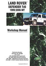 Land Rover Defender Td5 1999/2006 My Workshop Manual NUEVO Brossura Libro Brook