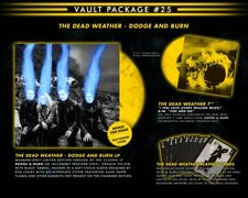 THIRD MAN RECORDS VAULT PACKAGE #25   THE DEAD WEATHER - DODGE AND BURN Set  NEW