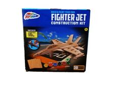 Grafix Build and Paint Your Own Fighter Jet Construction Kit - Craft Sets