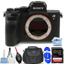 Sony Alpha a7R IV Mirrorless Digital Camera (Body) ILCE7RM4/B + 64GB Case Bundle