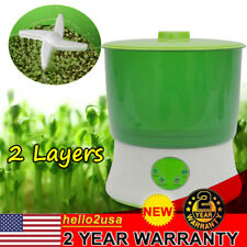 2 Layers Bean Seed Cereal Sprouts Machine Automatic Sprout Machine Sprouting Kit