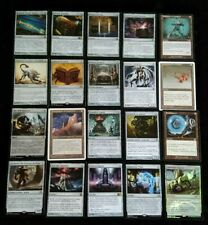 REF.12 Lot de 20 RARES ARTEFACT VF - cartes Magic MTG éditions variées incolore