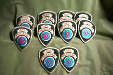 A P S NUCLEAR  EMBROIDERED PATCH LOT OF 10 MAYBE VINTAGE ? LOOK NEW OLD STOCK