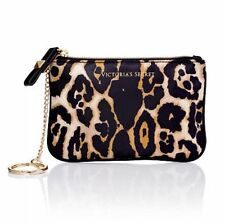 VICTORIA'S SECRET LEOPARD PRINT COIN PURSE/KEY RING MEDIUM