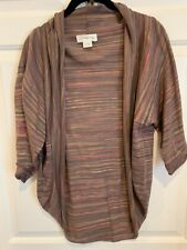 Laurie b Open Front Sweater Medium