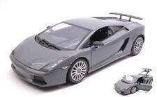 Lamborghini Gallardo Superleggera 2007 Dark Grey 1:18 Model MOTORMAX