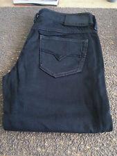 Jean diesel W26L/32 Femme Noir Straight