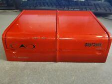 SOPRANOS CAO CIGAR BOX Red Plastic Sampler RARE Felt Bottom