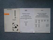 Bang & Olufsen Beolab 8000 Service Manual