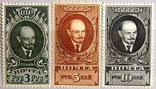 Russia Unión Soviética 1939 687-89 libre marcas rotunda Lenin comunista mnh mlh