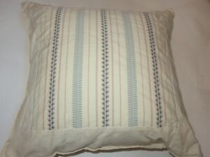 Ralph Lauren VILLANDRY Stripe decorative pillow NWT
