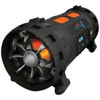 NEW Pyle Pbmspg200 Street Blaster X Portable Bluetooth(r)boom Box Speaker System