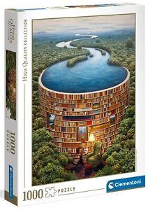 Clementoni 1000 Piece Jigsaw Puzzle - Bibliodame