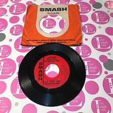 JAY & THE TECHNIQUES - APPLES PEACHES PUMPKIN PIE - STRONGER THAN DIRT - 45 RPM