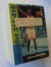 1995-96 Collectors Choice NBA Basketball Series 2 complete base card set.