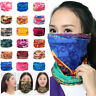 Tube Bandana Scarf Head Face Mask Neck Gaiter Snood Paisley Camo Skull Flowers