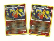 2x COMBUSKEN 35/106- D & P Great Encounters Pokemon Card  REV HOLO - 2008 NM/M