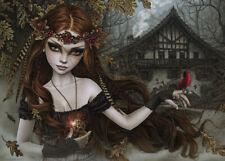 NEW! Heye Redbird by Victoria Frances 1000 piece gothic fantasy jigsaw puzzle