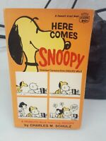 Here Comes Snoopy book by Charles M. Schulz Vintage acceptable