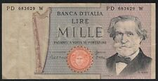1981 1000 Lire Italy Old Vintage Paper Money Banknote Currency Bill Note VF