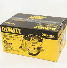 "DeWalt 20V MAX Cordless Circular Saw 6-1/2"" DCS391B Bare Tool BRAND NEW"
