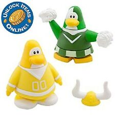 Disney Club Penguin 2 Inch Mix 'N and Match Figure Pack Series 10 Yellow Green