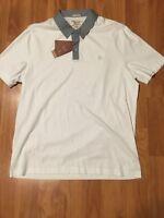 Penguin by Munsingwear Mens White Heritage Slim Fit Polo Shirt NWT $69 Size 2XL