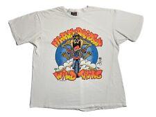 Vintage 90s Harley Davidson T Shirt Size XL 1991 Taz Looney Tunes Wild Thing