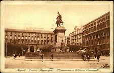 Neapel Napoli Italien Italia Kampanien ~1930 Piazza Municipio Monumento Denkmal