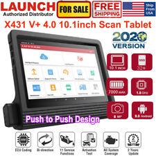 LAUNCH X431 V+ 4.0/ VII+ OBD2 Scanner Full-System Diagnostic Tool Key ECU Coding