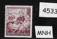MNH WWII Germany stamp / Third Reich / 1944 Mothers Gathering / Mother's Day