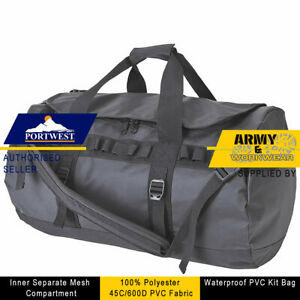Portwest 70L All Weather Kit Bag Hold All Duffle Bag Luggage Waterproof Travel
