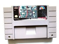 T2 Terminator 2 THE ARCADE GAME Super Nintendo SNES - Tested - Working Authentic